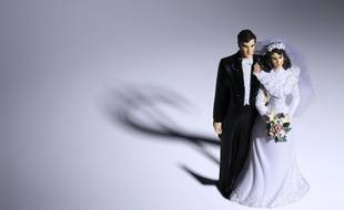 Illustration d'un mariage.