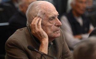 L'ex-dictateur argentin, Reynaldo Benito Bignone, le 5 mars 2013 à Buenos Aires