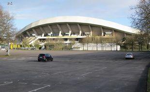 Le FCN souhaite bâtir son futur stade sur l'actuel parking du stade de la Beaujoire.