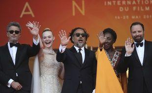Une partie du jury du festival de Cannes, pour la cérémonie de clôture, le 25 mai 2019