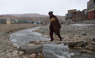Un homme de la communauté hazara à Bamiyan, le 13 mars 2021.