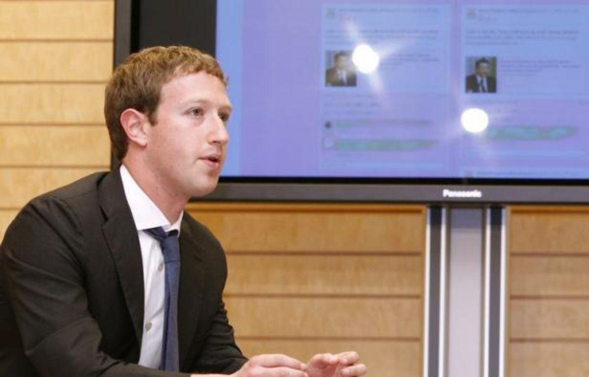 La direction du site communautaire sur internet Facebook pourrait faire le tour des investisseurs à partir de lundi, en vue d'une entrée en Bourse le 18 mai, indiquait mardi le Wall Street Journal dans son édition numérique. – Yuriko Nakao afp.com