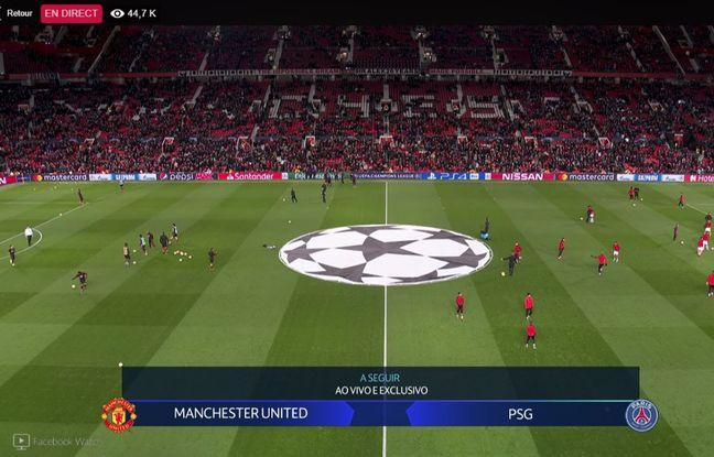 Manchester United-PSG: Paris a diffusé le match en live sur sa page Facebook à la surprise d'RMC Sport