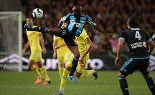 Lassana Diarra contre Nantes le 1er novembre 2015