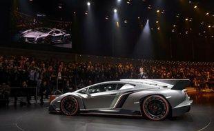Une Lamborghini Veneno.