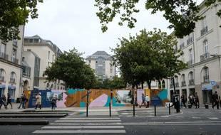 Le square Fleuriot en chantier