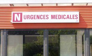 Aux urgences de l'hôpital Edouard Herriot à Lyon.