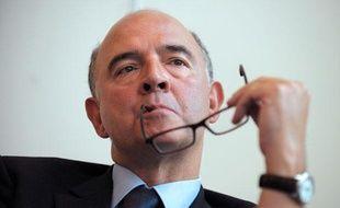 Le ministre de l'Economie, Pierre Moscovici, le 11 septembre 2013