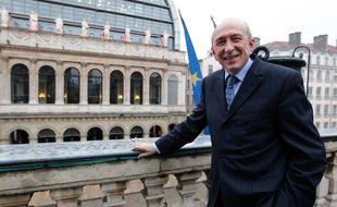 Le maire de Lyon, Gérard COLLOMB (PS), le 4 février 2013. CYRIL VILLEMAIN/20 MINUTES