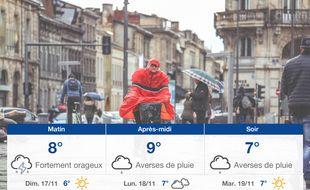 Météo Bordeaux: Prévisions du samedi 16 novembre 2019