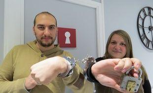 Audrey et Romain, joueurs invétérés, viennent d'installer le concept à Toulouse.