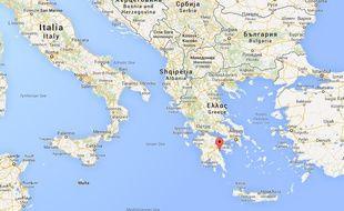 Localisation d'Astros en Grèce