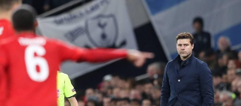 Mauricio Pochettino lors de la défaite 7-2 de Tottenham contre le Bayern Munich, le 1er octobre 2019.