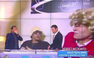 Image extraite de «Touche pas à mon poste», diffusé en direct le 19 avril 2016.