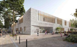 La future école du quartier Baud-Chardonnet ouvrira à la rentrée 2023.