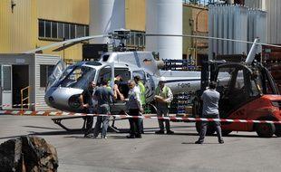 PSA va avoir recours à un hélicoptère pour faire sortir sa production de Sept-Fons
