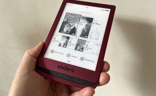 La liseuse française Vivlio Touch Lux 5 lancée à 119 euros.