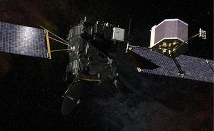 La sonde spatiale Rosetta et l'atterrisseur Philae ont été lancés en 2004.