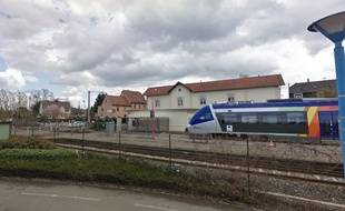 Un TER alsacien à Lingolsheim