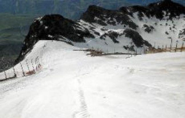 Le glacier, ce jeudi 28juin.