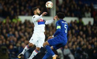 Fekir face à Everton.