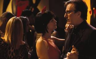Les acteurs Alan Rickman et Heike Makatsch dans le film «Love Actually».