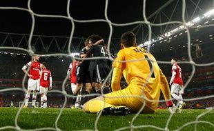 Le Bayern Munich a remporté le huitième de finale aller contre Arsenal (3-1) le 19 février 2013.