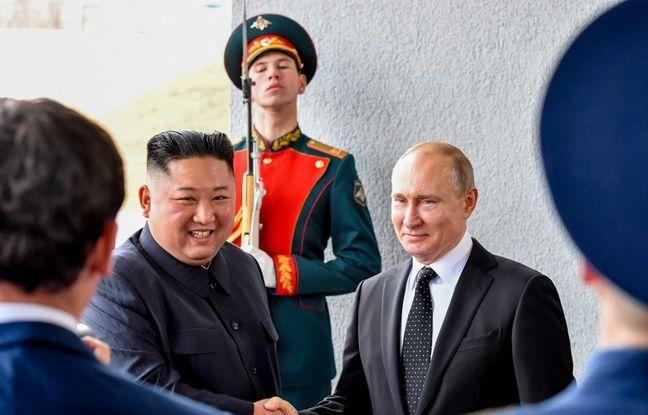 Sommet Poutine-Kim: «Un très bon moment»... La Corée du Nord salue des pourparlers «substantiels» avec la Russie