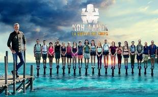 Les 21 candidats de l'édition «Koh-Lanta: La guerre des chefs».