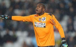 Le gardien du TFC Ali Ahamada lors du match de Ligue 1 entre Nantes et Toulouse, le 2 décembre 2014.