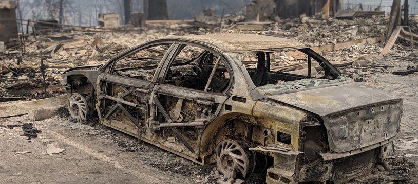 Paradise, incendie en Californie, novembre 2018.