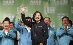 La présidente réélue de Taïwan, Tsai Ing-wen.