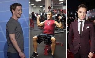 Mark Zuckerberg incarne le Normcore, Joseph Gordon-Levitt interprète un spornosexuel dans «Don Jon», Ed Westwick  a le dressing d'un YUM dans «Gossip Girl».
