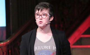 La journaliste Lyra McKee, morte jeudi soir, était notamment en pointe sur les droits des personnes LGBTI. Elle était ouvertement lesbienne.