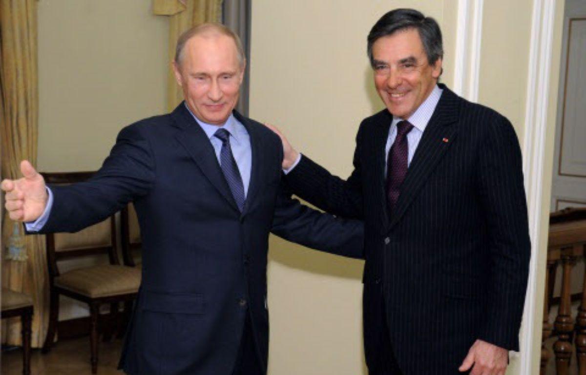 Poutine a loué le professionnalisme de Fillon, en course pour l'investiture à la primaire de la droite – Alexei Druzhinin/AP/SIPA