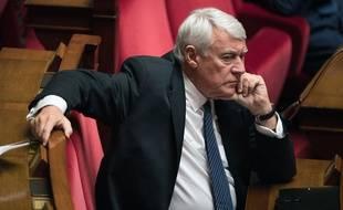 Le député-maire du 16e arrondissement de Paris, Claude Goasguen, le 13 juillet 2016 à l'Assemblée nationale.