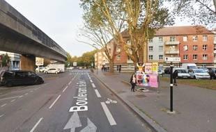Le secteur du boulevard de Belfort, à Lille.