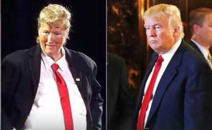 Quand Meryl Streep caricature Donald Trump.