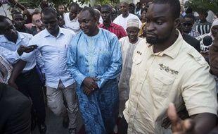 Adama Barrow, le nouveau président de Gambie, le 13 décembre 2016.