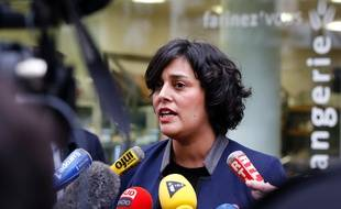 Myriam El Khomri, le 24 décembre 2015. AFP / FRANCOIS GUILLOT