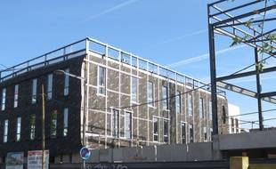 Le Bâtiment Cannes Postes construit à Lille Sud.