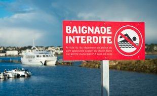 Selon Christian Poutriquet, beaucoup de noyade ont lieu dans des lieux où la baignade est interdite