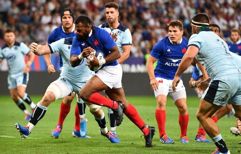 France Ecosse Les Bleus D roulent Contre L Ecosse Et Se R concilient Avec Leur Rugby Revivez Le Match Avec Nous