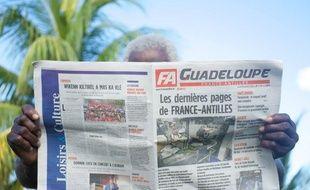 Les trois quotidiens du groupe France-Antilles, en Guadeloupe, en Martinique et en Guyane,  devraient redémarrer courant avril.