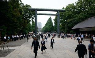 Le sanctuaire Yasukuni, à Tokyo.