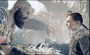 Kratos et Atreus, une relation père-fils au coeur du jeu.