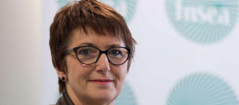 Christiane Lambert , présidente de la FNSEA.
