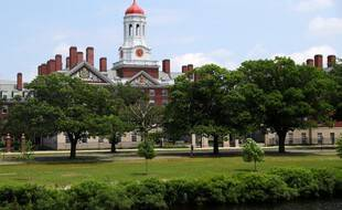 Le campus d'Harvard dans le Massachusetts