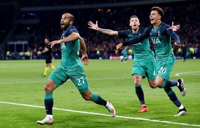 Ajax-Tottenham: Ligue des champions, mon frère! Lucas n'a «pas les mots» après son triplé salvateur