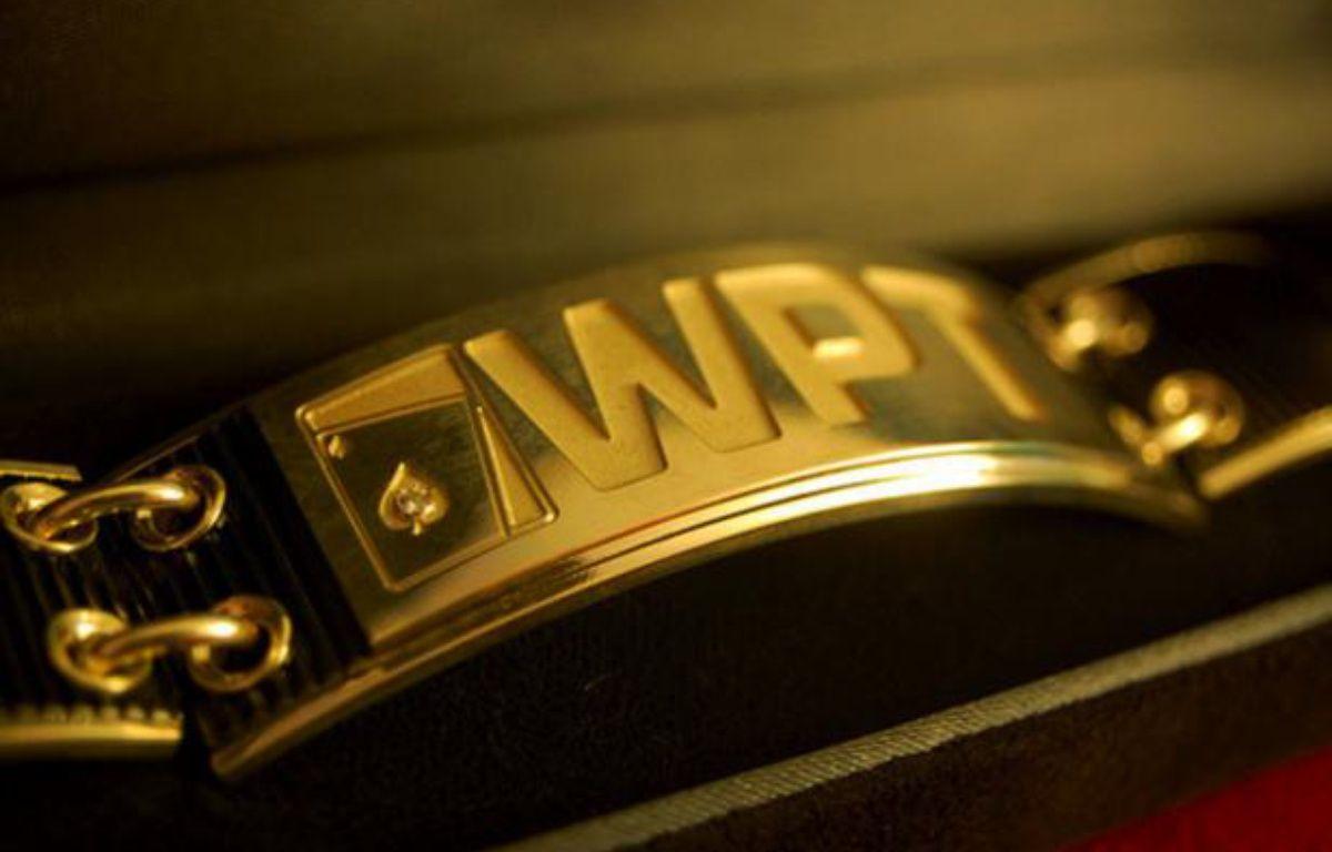 Le bracelet du vainqueur pour ceux qui remporteront l'une des prochaines étapes du World Poker Tour – WPT
